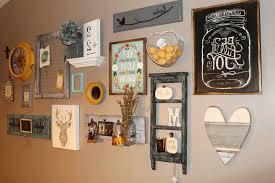 kitchen wall decor ideas diy beige wooden door dark brown wooden