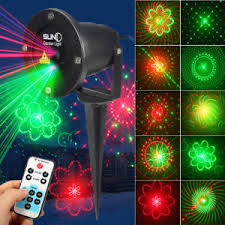 laser lights outdoor projection lighting kit