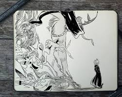 artist creates awesome ink sketches every day for a year impact