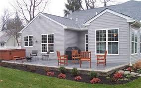 Backyard Concrete Patio Mr Contractor Inc