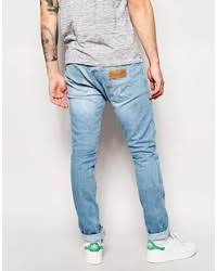 wrangler light blue jeans wrangler jeans bryson skinny fit the angler light wash where to