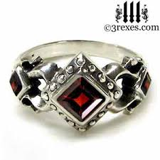 gothic ruby rings images Royal princess gothic engagement ring 3 rexes jewelry jpg