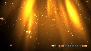 golden dust screensaver youtube
