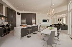 Modern House Dining Room - architecture luxurious modern house for your future house