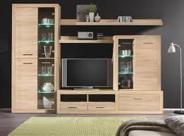 Wohnzimmerschrank In Eiche Wohnwand Cancan Sonoma Eiche Nb U0026 9654 Online Bei Poco Kaufen