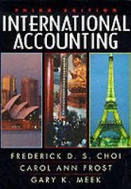 frederick cooper ls ebay international accounting by gary k meek frederick d s choi and