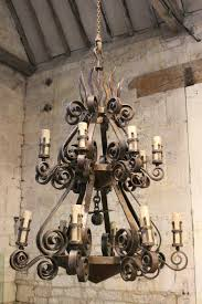 Outdoor Iron Chandelier Wrought Iron Chandeliers With Candles Uk Wrought Iron Outdoor