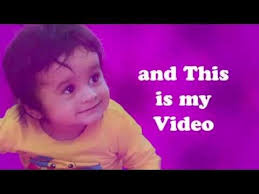 1st birthday invitation video jungle theme youtube