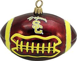 collegiate football usc ornament contemporary