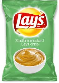 stadium mustard stadium mustard lays chips for the home mustard