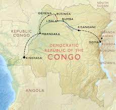 Congo River Map Crossing Congo U203a The Travel Episodes