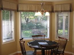 Window Treatment Valance Ideas Kitchen Mesmerizing Kitchen Curtains Bay Window And Treatment