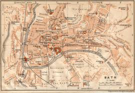 map uk bath free maps of and