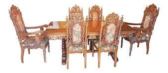 vintage u0026 used brown dining sets chairish