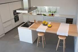 table ilot cuisine haute cuisine îlot 15 photos où la cuisine se fait cuisines