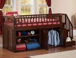 Low Bunk Beds With Stairs Foter - Mini bunk beds