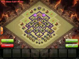 layout design th7 best th7 war base design for 2015 clash for dummies