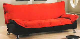 Comfortable Futon Sofa Bed Furniture Cheap Futons In Blue With Wooden Frame For Home