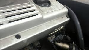 lexus es330 hood 1995 lexus es300 noise under the hood power steering pump youtube