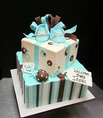 brown and blue baby shower cakes gallery baby shower ideas