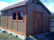 gambrel shed plans ebay
