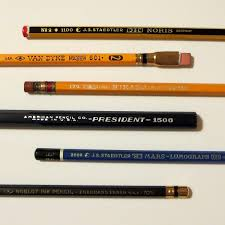 paper mate earth write pencils ticonderoga pencil revolution pencils of various ages mostly old