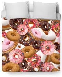 Duvet Donuts Duvet Covers In Cats Skulls Donuts Trendy And Fun Shop Lulu