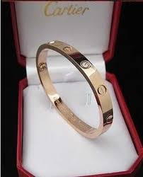 love bracelet gold plated images Cartier love bracelet in rose gold plated with diamonds in the jpg