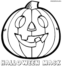halloween mask cutouts mask coloring pages coloring pages to download and print