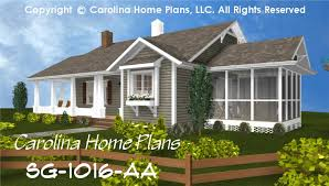 cottage style house plans with porches small cottage style house plan sg 1016 sq ft affordable small