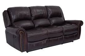 sofa fabulous leather reclining sofas a traditional american