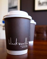 Cup Design blackvanilla logo takeaway coffee cup brand pinterest coffee