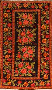 armenian karabakh blue rectangle 5x7 ft wool carpet 26632