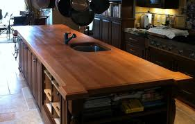 Butcher Block Top Kitchen Island Furniture Make Your Kitchen Beautiful With Butcher Block Island