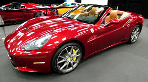 Ferrari California Vintage - 2013 ferrari california exterior and interior walkaround 2013
