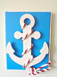 15 easy diy wall art ideas you ll fall in love with diy nautical anchor wall art