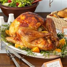 top 10 simple turkey recipes best easy thanksgiving dinner cooked happy orange turkey recipe taste of home