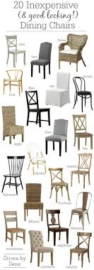 Inexpensive Dining Room Chairs 20 Inexpensive Dining Chairs That Don T Look Cheap Driven By