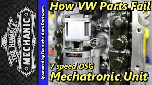 Audi Q5 8 Speed Transmission - how vw parts fail 7 speed dsg mechatronic unit youtube