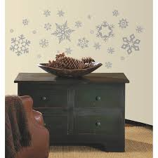 roommates glitter snowflakes children repositionable wall product details