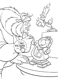 the beast practice coloring pages for kids printable free
