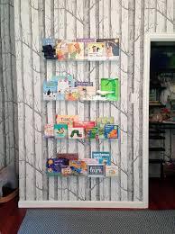 Nursery Wall Bookshelf Nursery With Clear Floating Bookshelves Contemporary Nursery