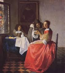 vermeer pearl necklace the glass of wine johaness vermeer johannes vermeer s influence