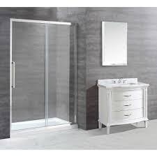 Bel Shower Door by Ove Ellis 60 In Shower Enclosure
