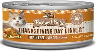 thanksgiving day menus merrick purrfect bistro grain free thanksgiving day dinner minced