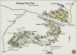 Himilayas Map Trekking In The Himalayas Hampta Pass Map Indiahikes 2 Indiahikes