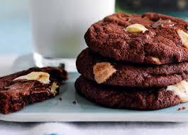 recipe triple chocolate cookies sainsbury u0027s