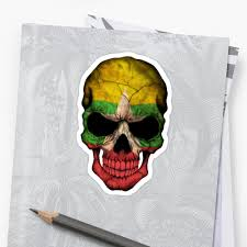 Myanmar Flag Photos Myanmar Flag Skull