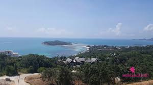 chaweng bay view land plots for sale samui island realty