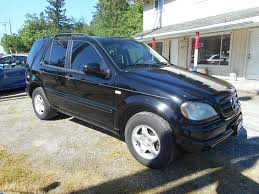 2000 mercedes suv 2000 mercedes m class awd ml 320 4matic 4dr suv in puyallup